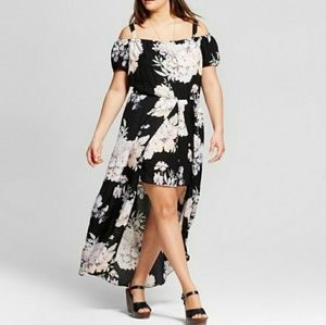 Lily Star Maxi Dress with Shorts 3x